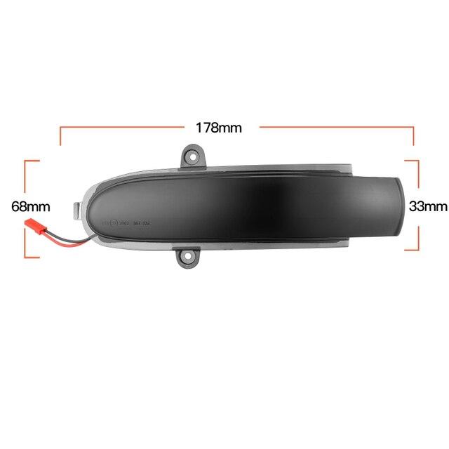 Фото автомобильный светодиодный светильник с динамическим поворотом