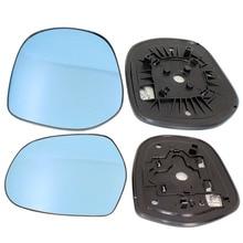 תצוגה רחבה מראה אחורית עמעום אוטומטי כחול מחומם מראה זכוכית עם LED הפעל מחוון עבור טויוטה פראדו