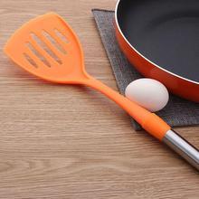 Шпатель антипригарная сковорода специальная лопатка кухонная утварь захватывающий торт жареная рыба теппаняки Лопата высокотемпературная ложка для риса ED