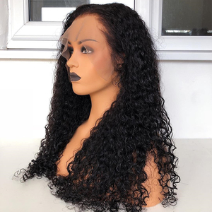 Image 5 - 360 Lace Frontal Wigs Curly Human Hair Wigs HD Transparent Lace Frontal Wigs Pre Plucked Bleached Knots Wigs For Black Women