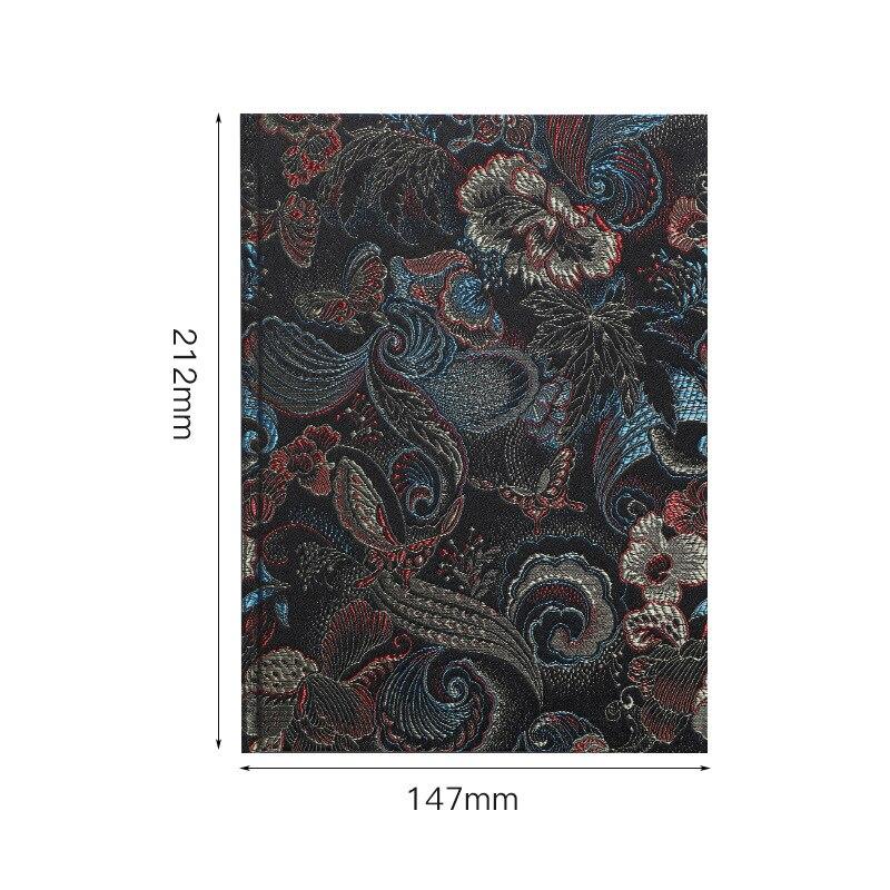Купить простой оригинальный винтажный блотетрадь т с дамасским облаком
