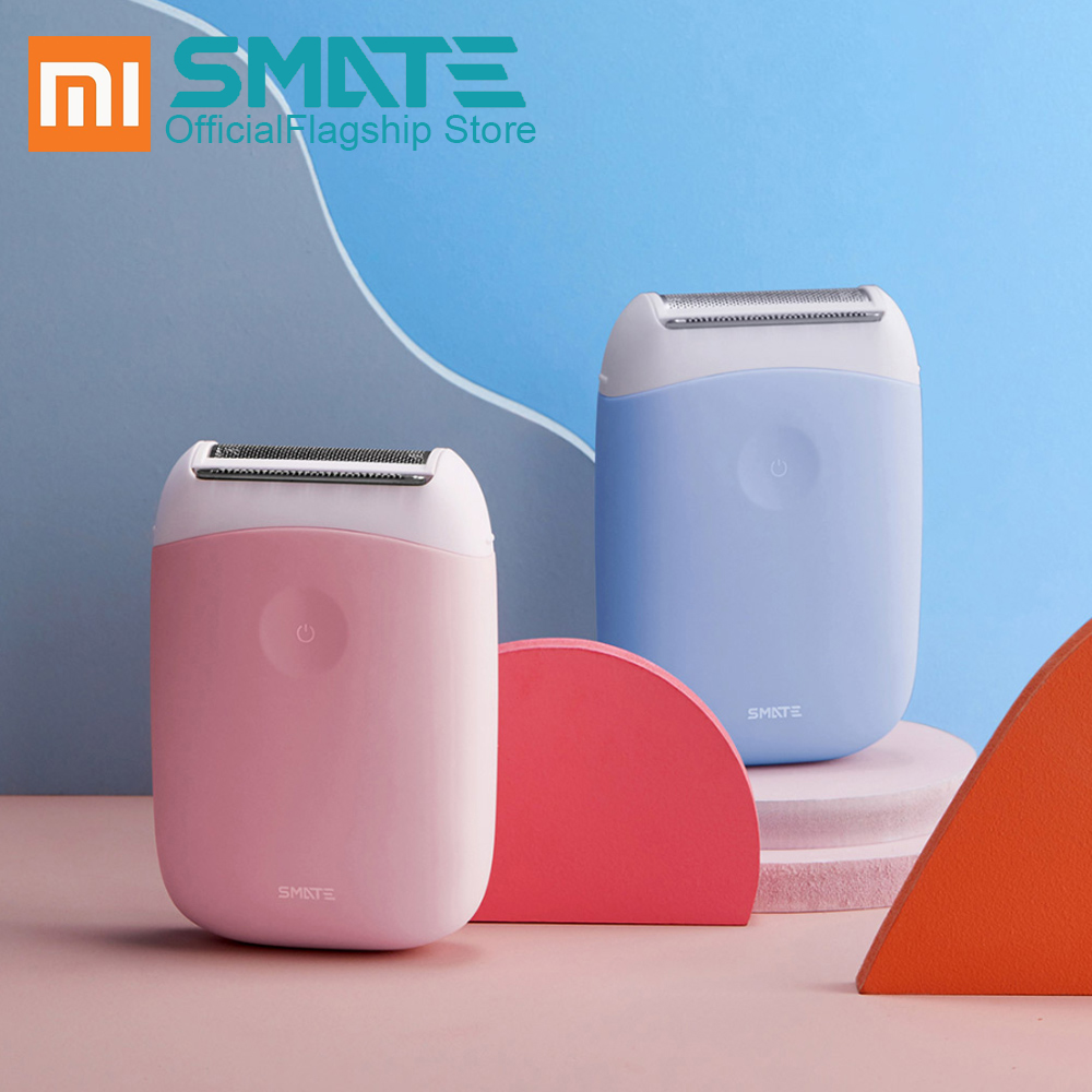 For Xiaomi SMATE ST-L36 Electric Epilator Hair Removal Trimmer Women Hair Shaver Clipper Mini Portable Smooth Shaver Epilator
