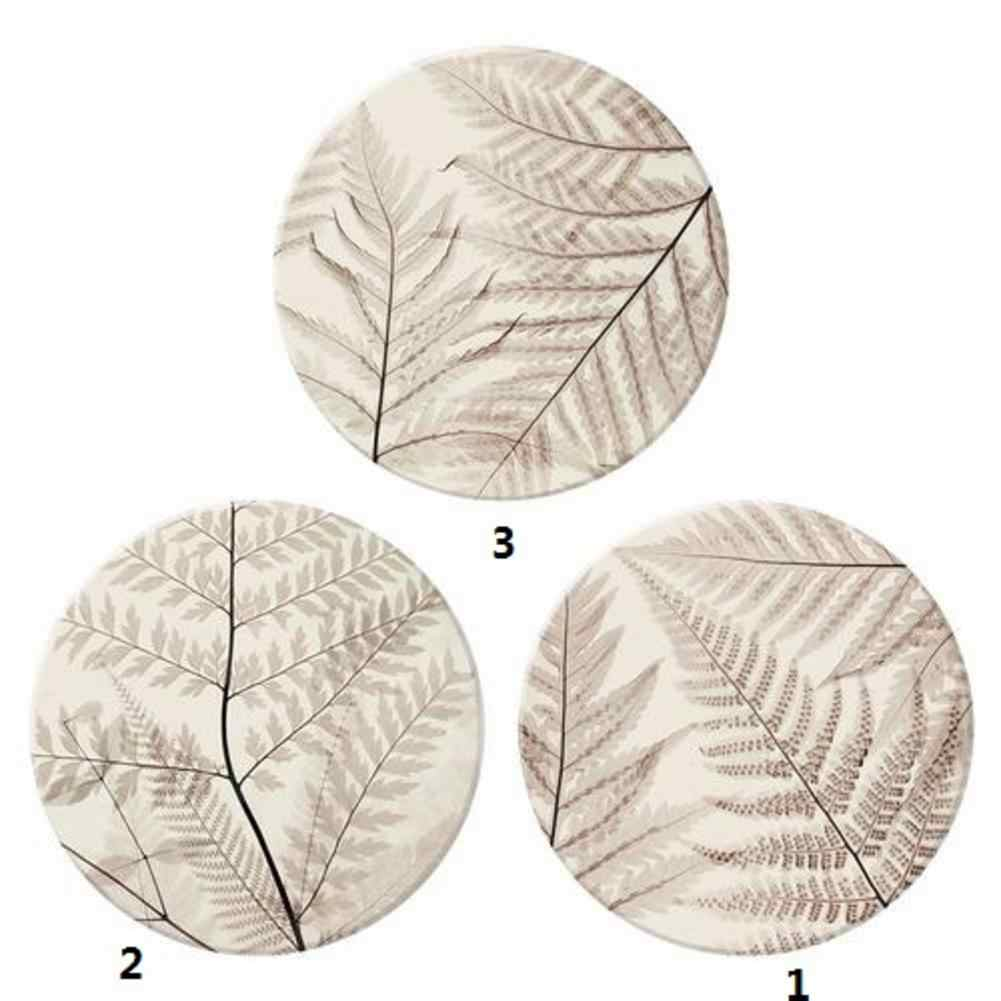 Absorbent Pad Diatomite Absorbent Coaster Daily Use Insulated Placemat Natural Cork Coasters Holder Drink Coasters Newer