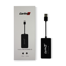 Carlinkit-Apple CarPlay de enlace inteligente inalámbrico, Dongle para reproductor de navegador Android, Mini USB, Carplay con Android Auto