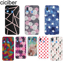 Ciciber Love Heart Feather for Samsung A50 A70 A40 Phone Case for Samsung Galaxy A30 A20 A60 A10 A20e A80 Soft TPU Cover Coque