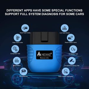 Image 2 - Nexas Nexlink Bluetooth 5.0 Obd 2 Scanner Eobd Diagnostic Tool Engine Code Reader Auto Scan Tool Voor Ios Android Windows