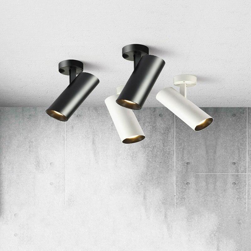 Oberfläche Montiert LED Downlights Faltbare 360 ° Drehbare COB LED Decke Spot lichter 10W15W20W LED Lampen Hintergrund Wand Beleuchtung