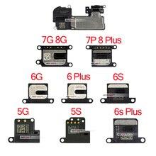 1 шт Динамик для iPhone X 5 5S SE 6 6S 7 8 Plus XR XS ушной динамик Ушной Динамик Запасные части для сотового телефона