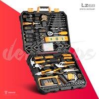 DEKO herramientas de mano,herramientas mecánicas, maletin herramienta,herramientas carpintería,multiherramienta con conjunto de caja de enchufe y llave de torsión, serie DKMT, edc