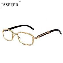 JASPEER, новинка, алмазные солнцезащитные очки для мужчин и женщин, винтажные квадратные стильные солнцезащитные очки, фирменный дизайн, модные солнцезащитные очки для мужчин, UV400 очки