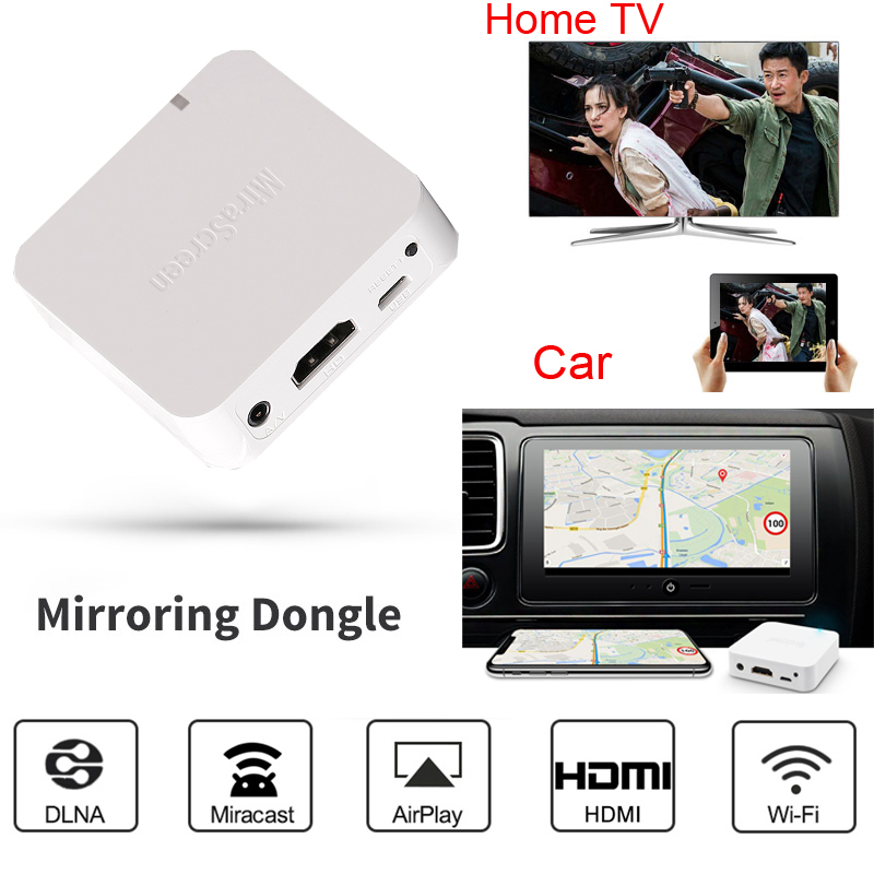 Image 5 - AV HDMI беспроводной WiFi дисплей ключ зеркальная коробка Android  IOS Телефон для автомобиля тв видео адаптер Miracast DLNA Airplay  Зеркальное отображение экранаТелефонные адаптеры и конвертеры   -