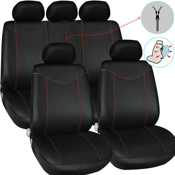 Universal Car Seat Cover Covers for Car Seats for Toyota Harrier Highlander Kluger Hilux Mark 2 Premio Rav4 Venza Yaris 2 3