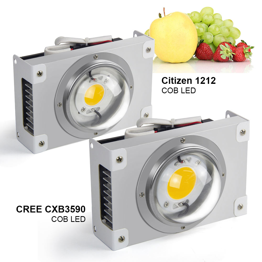 Cree Cxb3590 Led Grow Light 3000k 3500k 5000k 100w Citizen 1212 Plant Grow Lamp For Indoor Tent Greenhouses Hydroponic Plant Grow Light Parts Accessories Aliexpress