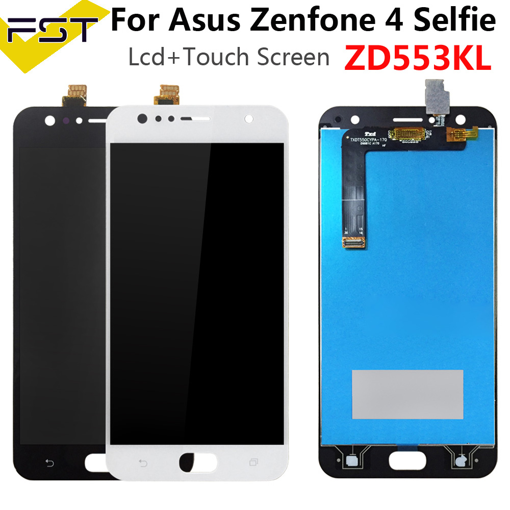 For Asus Zenfone 4 Selfie ZD553KL ZB553KL X00LD LCD Display+Touch Screen Digitizer Assembly Spare Parts+Tools For ASUS ZD553KL