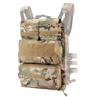 Military Tactical JPC Vest Accessory Bags Durable Airsoft Paintball Combat Molle Pouch Magazine Bag Shooting Army Vest Pouch Bag