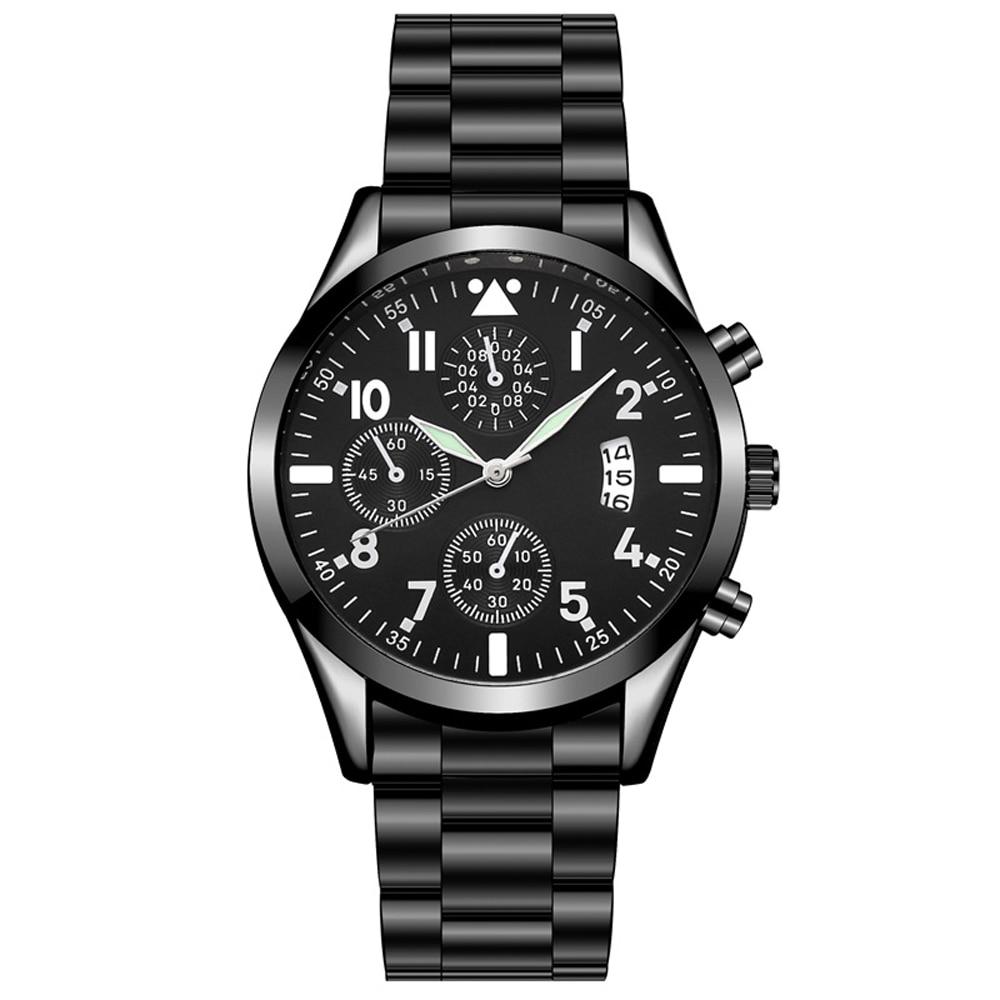 Кварцевые наручные часы HEZHUKEJI, мужские часы с классическим календарем, мужские деловые стальные часы, мужские часы, популярные saati ho|Спортивные часы|   | АлиЭкспресс