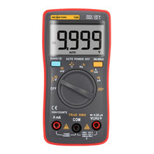 Rm109 multímetro digital 9999 contagens retroiluminação ac/dc amperímetro voltímetro ohm medidor de tensão portátil