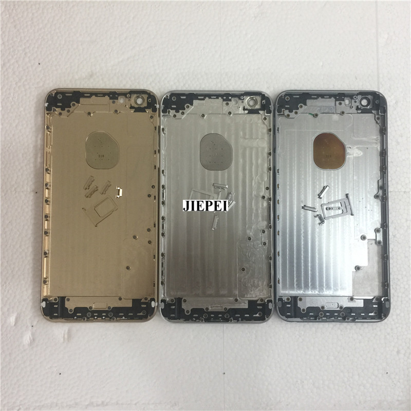 JIEPEI Housing-Case iPhone 6 Battery-Cover Door Back Middle-Chassis Rear 6-Plus 10PCS