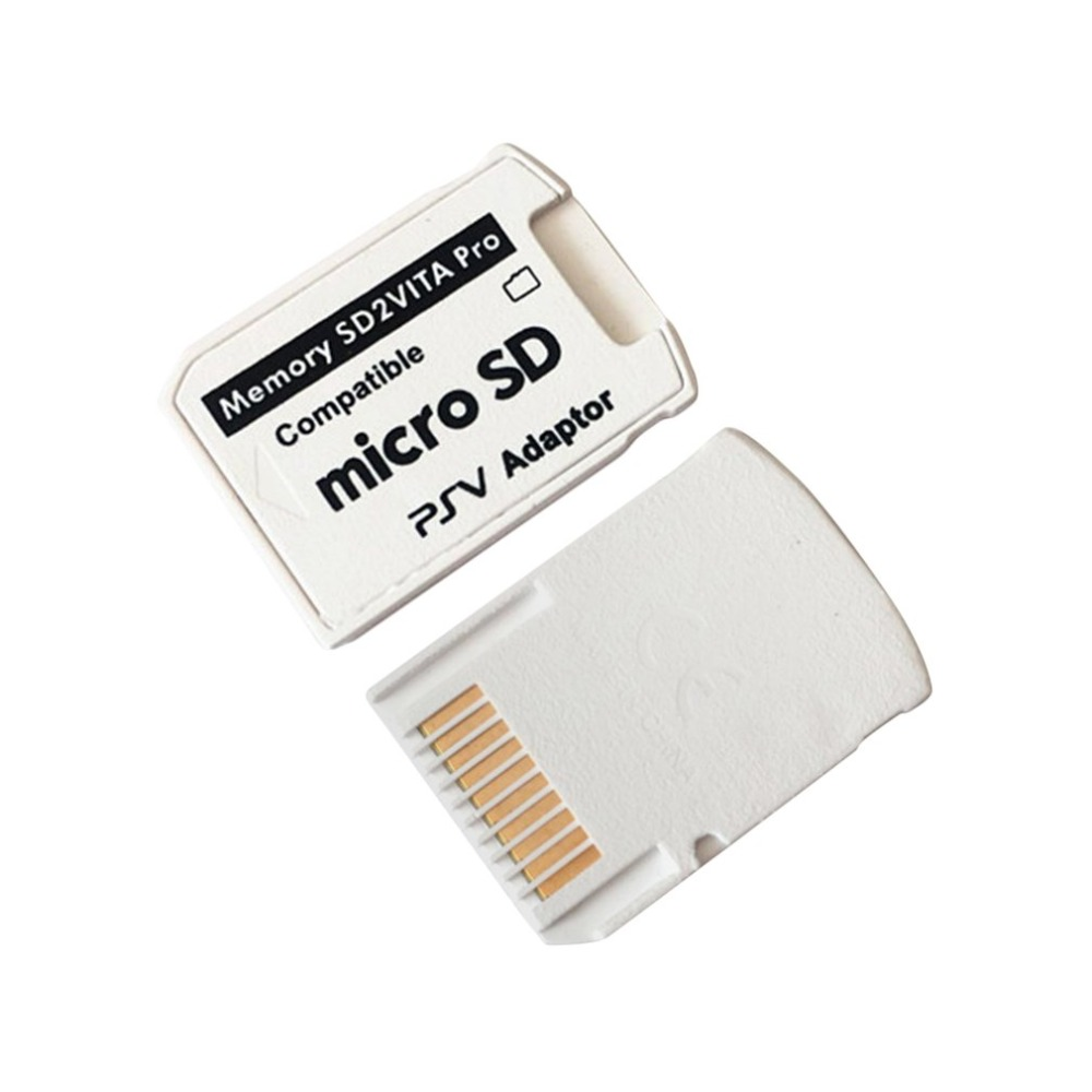 5.0 SD2VITA Adapter Professional Small Size Version For <font><b>PS</b></font> <font><b>Vita</b></font> <font><b>Memory</b></font> TF <font><b>Card</b></font> for PSVita Game Card1000/2000 PSV Adapter image