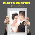 Photo Custom 5D DIY Diamond Painting Private Custom!Make Your Own Diamond Painting Home Decor Hanging Pictures