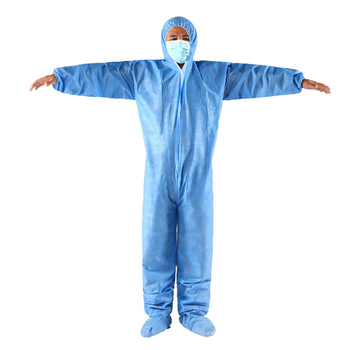 One time disposable waterproof oil-resistant protective coverall for spary painting decorating clothes overall suit
