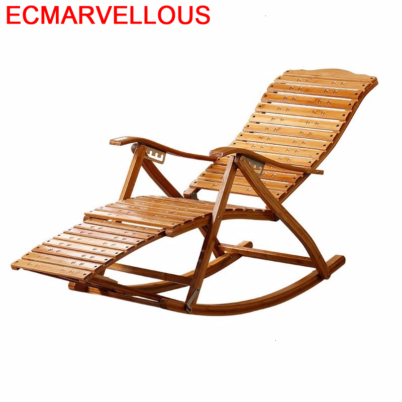 Armchair Kanapa Relax Sillones Rocking Chair Fauteuil Salon Sillon Reclinable Cama Plegable Folding Bed Bamboo Chaise Lounge