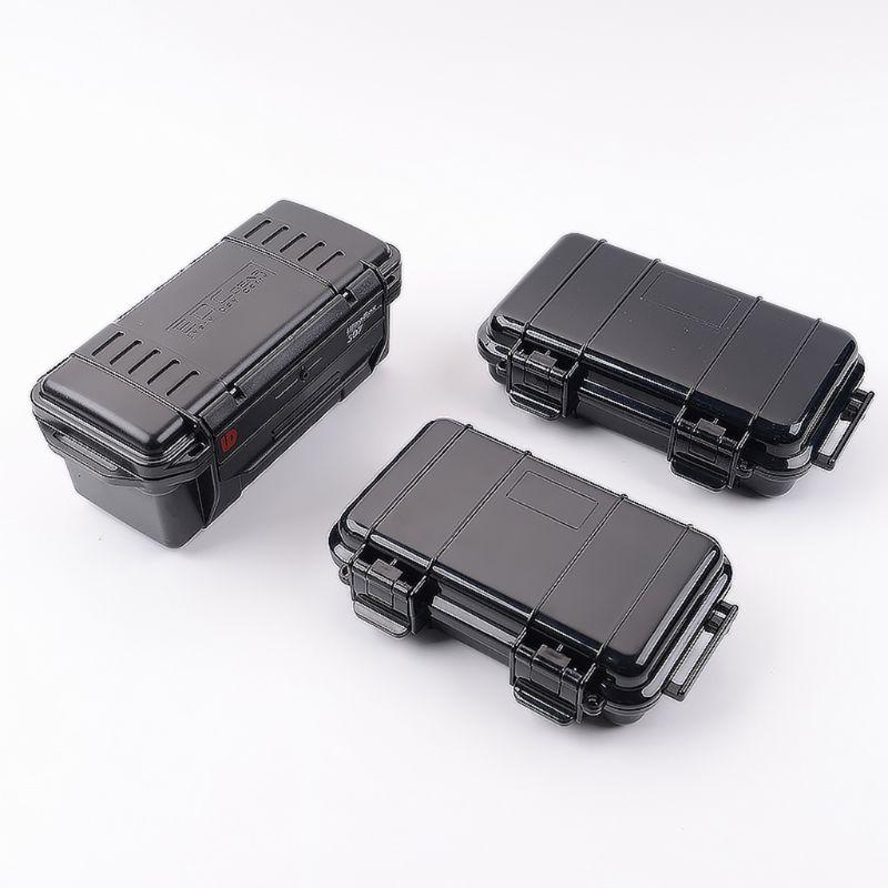 Outdoor Shockproof Pressure Resistant Waterproof Dustproof Sealed Waterproof Safety Case ABS Plastic Tool Box Dry Box Survival