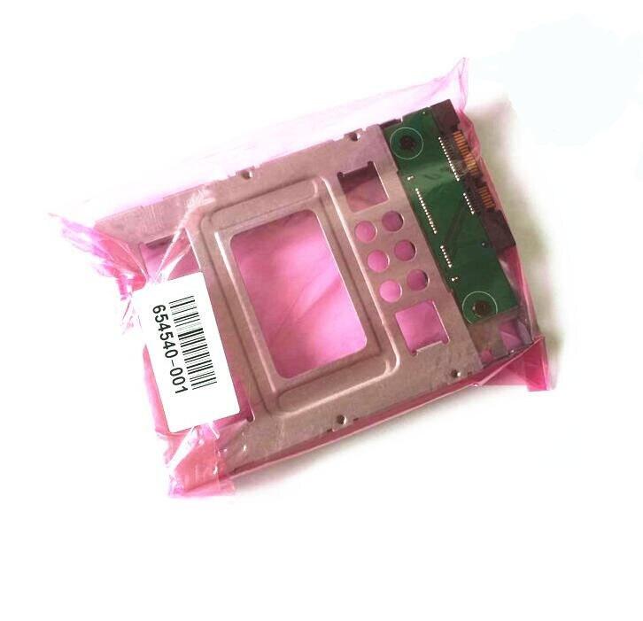 HP原装 2.5寸SSD转3.5寸固态硬盘支架654540-001 GEN8N54L转接架 (6)