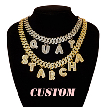 Hot Trendy Customized Letters Necklace Personalised Name Choker Custom Name Necklace, Stunning Custom Jewelry Gift for Her