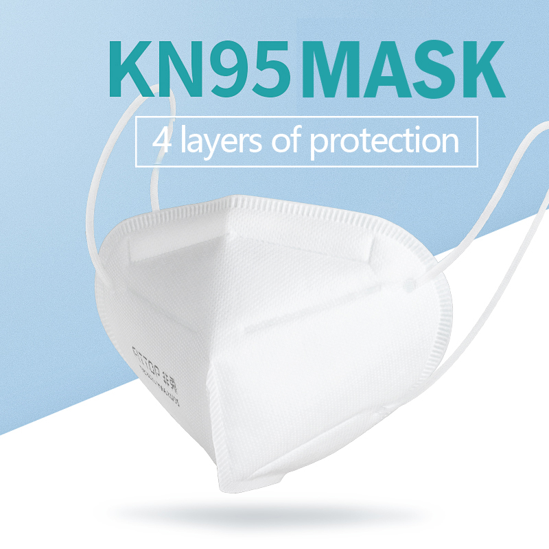 10PCS KN95 4 Layers Mask Antivirus Flu Anti Infection KN95 Masks Particulate Respirator PM2.5 Protective Safety N95 Face Mask
