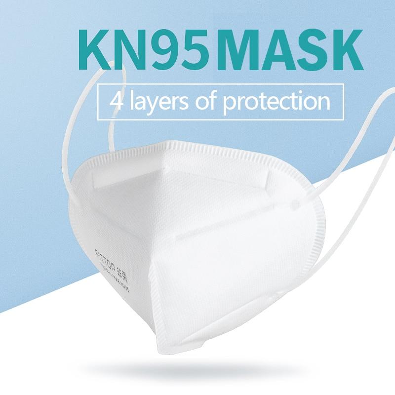 10PCS KN95 Face Mask = N95