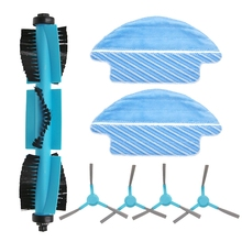 Roller Brush Side Brushes for Cecotec Conga 3090 Vacuum Cleaner Accessories Soft Texture Good the Floor Surface