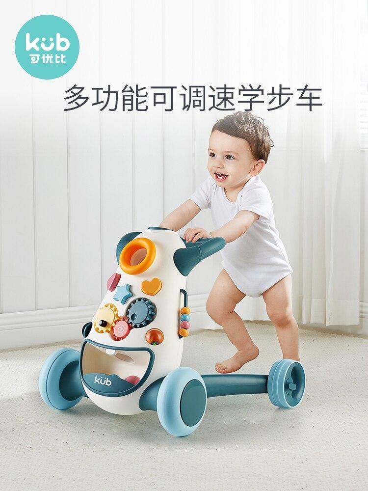 Keyoubi Baby Walker Children's Trolley Children's Toys 6-18 Months Walker Learning To Walk