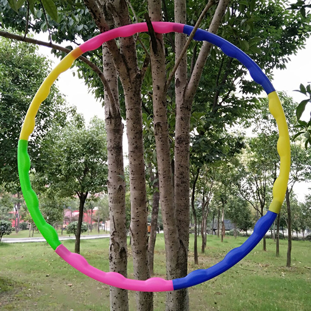 Kindergarten Plastic Morning Exercises Hula Hoop Deconstructable Child Assembling Gymnastic Sports Fitness Young STUDENT'S Dance