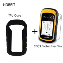 High Quality TPU Case + 2pcs Film Not Glass For Garmin ETrex 10 20 30 10x 20x 30x GPS Bicycle Screen Protection Film Case Cover