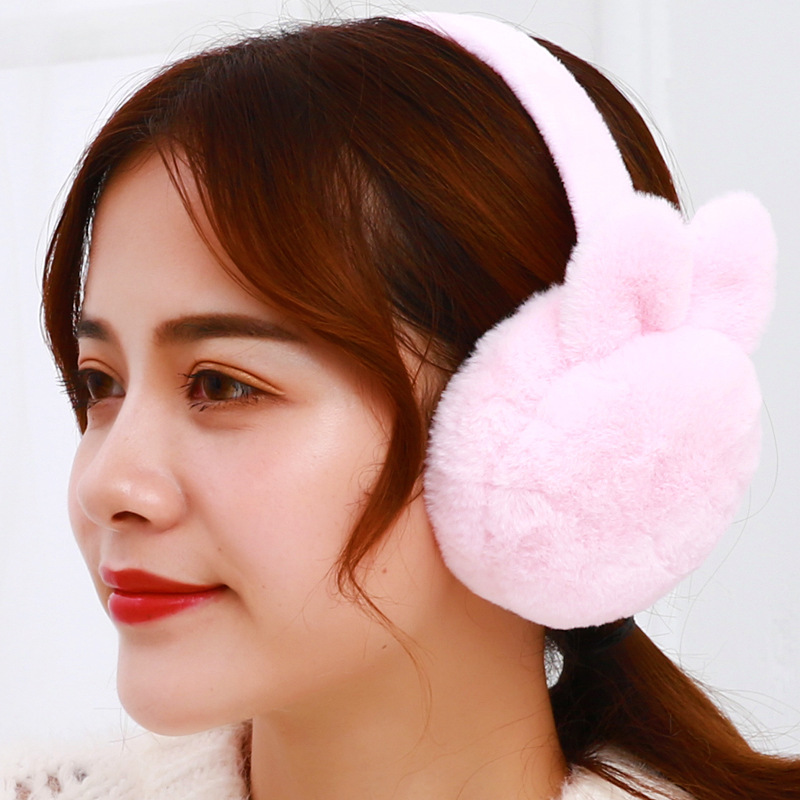New Winter Outdoor Snowboarding Plush Earmuffs Soft Earmuffs Plush Earmuffs For Men Women Ear Protectors