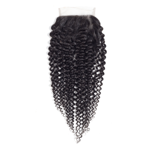 Image 5 - מיס רולה שיער ברזילאי שיער Weave 100% שיער טבעי קינקי מתולתל 3 חבילות עם סגירת ללא רמי שיער הרחבות צבע טבעי