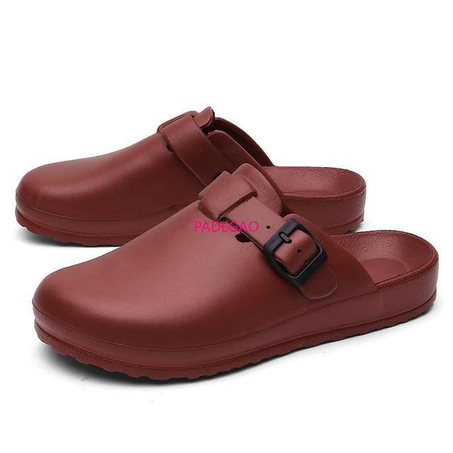 Pantoufles médicales propre chirurgical EVA sandale chaussures chirurgicales Ultralite soins infirmiers sabots Tokio Super Grip chaussures antidérapantes spécialiste