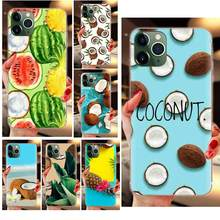 Fruit Coconut Soft Pattern Case Cover For Sony Xperia Z Z1 Z2 Z3 Z4 Z5 compact Mini M2 M4 M5 T3 E3 E5 XA XA1 XZ Premium(China)