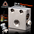Trianglelab Swiss CR10 позолоченный медный тепловой блок для CR10 Hotend cr-10 Hotend для mk8 сопла BMG экструдер ender3 cr-10s