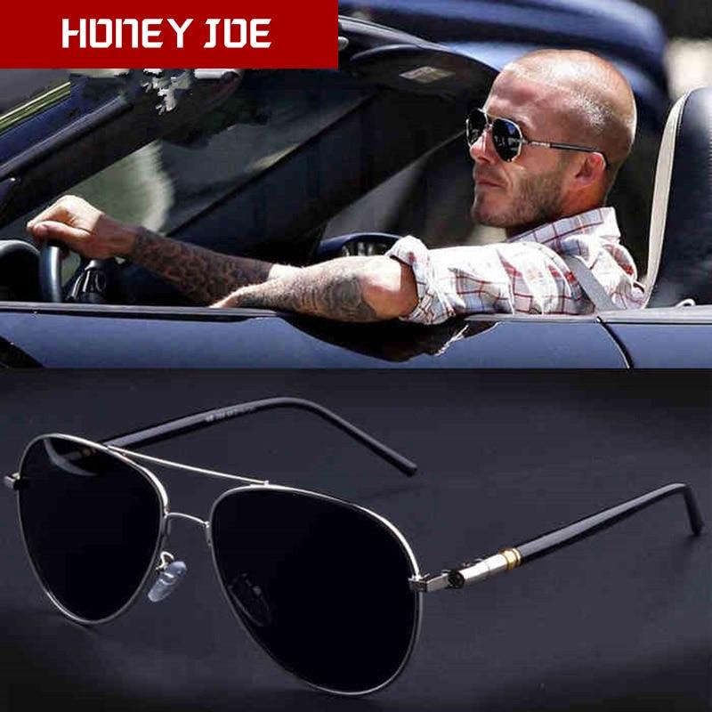 Fashion 100/% UV400 Mens Polarized Retro Metal Driving Outdoor Sunglasses Glasses