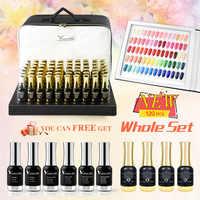 111 sztuk * 12ml VENALISA żel lakier paleta kolorów do paznokci Salon lśniące brokat Starry wysokiej jakości UV żelowy lakier do paznokci LED