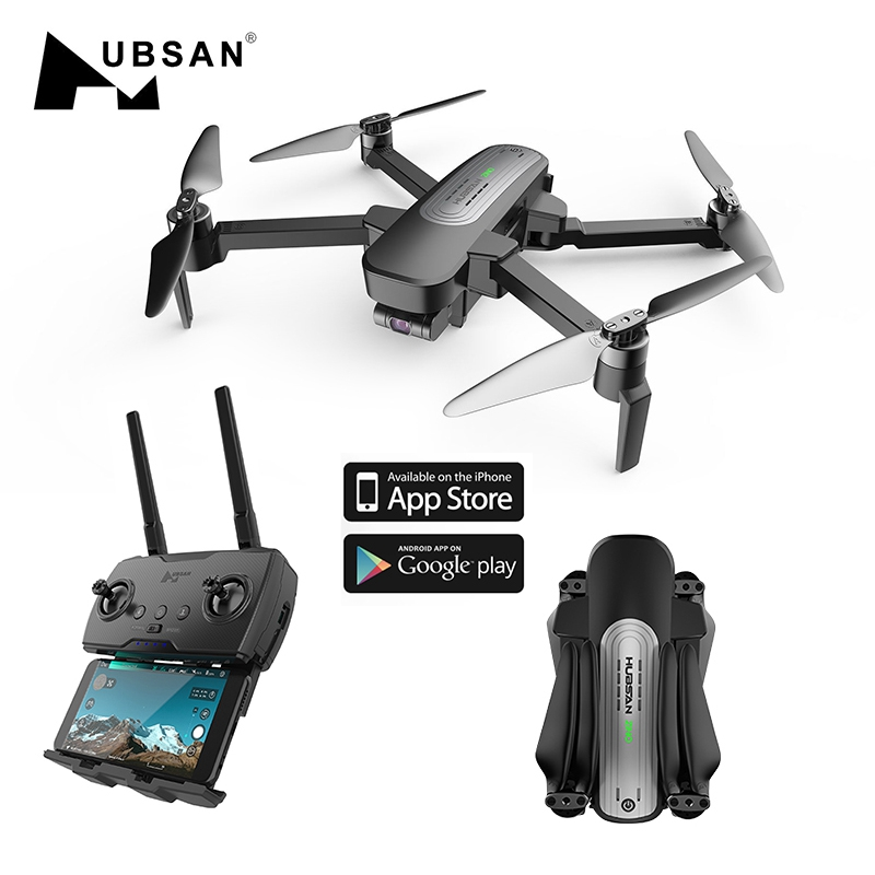Hubsan H117S Zino GPS Drone with 4K Camera 5 8G 1KM 3 Axis Gimbal Remote Control Drone Quadcopter Dron Brushless RTF Profesional