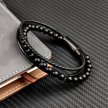 Mingao Очаровательные простые мужские браслеты с бесплатным