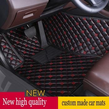 ZHAOYANHUA car floor mats for BMWBMW Mini R50 R52 R53 R56 R57 R58 F55 F56 F57  car styling high quality carpet rugs