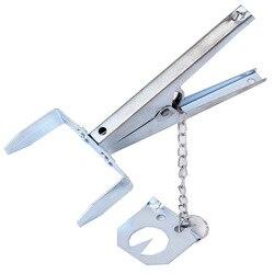 Многофункциональная оцинкованная ловушка для Кротов, прочная ловушка для когтей, легкая в установке, Устранитель ножниц, многоразовый, слу...