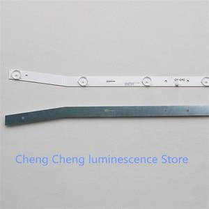 Image 3 - 1Set=2pcs New For NUOVA LED Backlight Strip JS D JP3220 061EC XS D JP3220 061EC E32F2000 MCPCB   58.5CM  6V  100%NEW