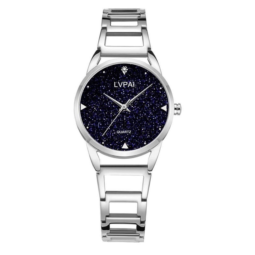 Bracelet Women s Wristwatch Crystal Diamond Female Watches Luxury Elegant Watches Dress Starry Sky Quartz Stanless