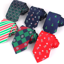 Fashion-Tie Cartoon Suit Business Skinny Christmas Adult Women for Classic Party Casual