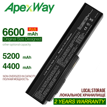 цена на ApexWay  Laptop Battery For Asus N61 N61J N61Jq N61V N61Vg N61Ja N61JV N53 M50 M50s N53S A32-M50 A32-N61 A32-X64 A33-